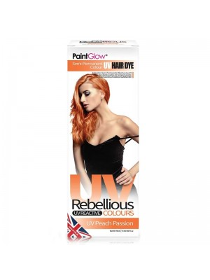 Paint Glow Rebellious UV Reactive Colours - Peach Passion