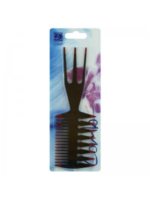 Dimples 3 in 1 Hair Styling Wide Tooth Detangling Comb