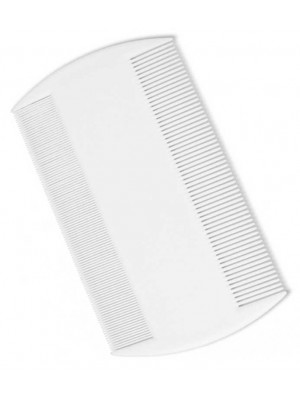 Wholesale Duralon Nit Combs - White (8.5cm)