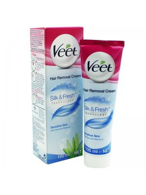 Veet Silk & Fresh Sensitive Skin Hair Removal Cream