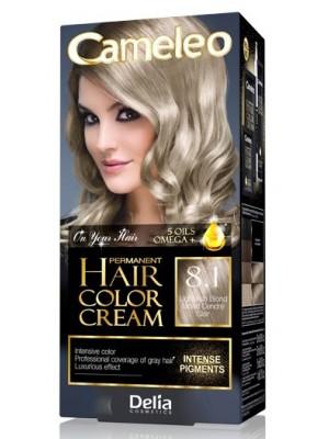 Delia Cameleo Permanent Hair Colour Cream - 8.1 Light Ash Blond