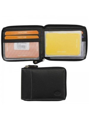Wholesale Men's Florentino Leather Card Wallet With 16 Card Slots