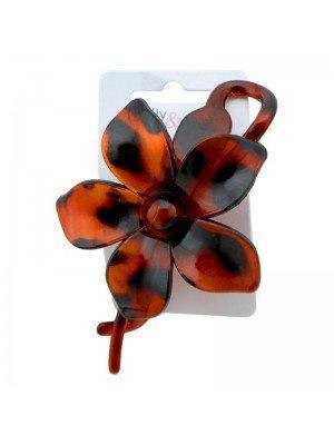 Wholesale Flower Design Clip - Tort