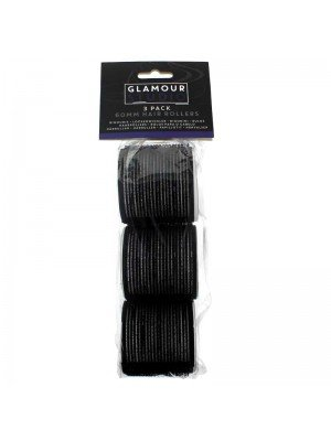 Glamour Studio 60mm Hair Rollers - Three Pack