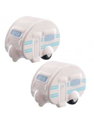 Wholesale Caravan Ceramic Salt And Pepper Set