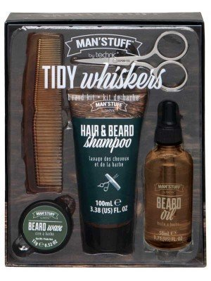 Technic Man's Stuff Tidy Whiskers - Hair and Beard Kit