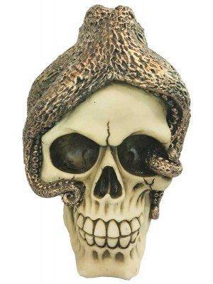 Wholesale Bronze Octopus Skull Ornament - 13cm