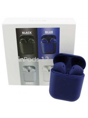 Wholesale TWS inPods 12 Wireless Earbuds - Dark Blue