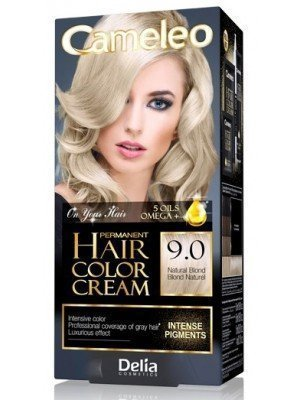 Wholesale Delia Cameleo Permanent Hair Colour Cream - 9.0 Natural Blond