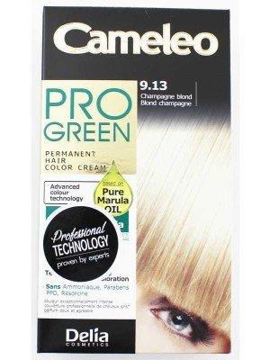 Wholesale Delia Cosmetics Cameleo Pro Green Permanent Hair Colour Cream-9.13(Champagne Blond)