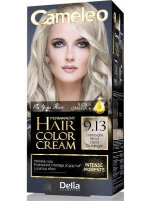Wholesale Delia Cameleo Permanent Hair Colour Cream - 9.13 Champagne Blond