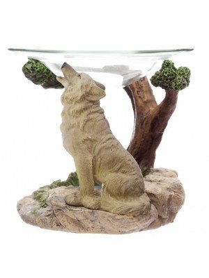 Wholesale Protector of the North Spirit of the Forest Wolf Oil Burner-11cm