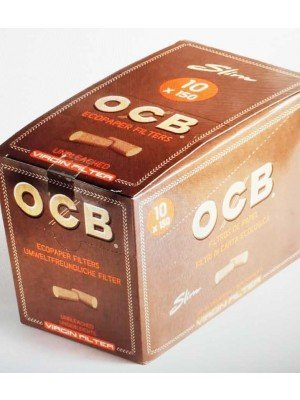 Wholesale OCB Eco Paper Filter Tips-10 Booklets