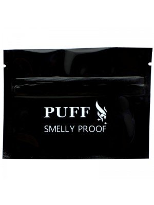 Wholesale Grip Seal Smelly Proof Baggies - Black (75mm x 100mm)
