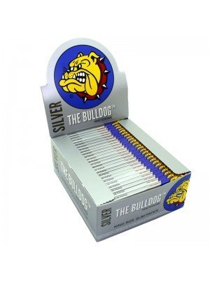 Wholesale The Bulldog King Size Slim Paper - Silver