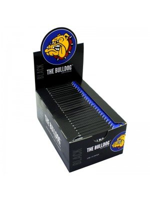 Wholesale The Bulldog 1¼ Size Rolling Papers - Black
