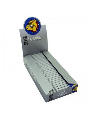 Wholesale The Bulldog Regular Size Papers - Silver
