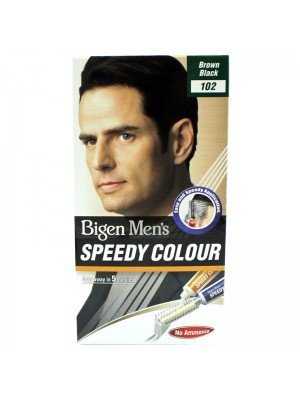 Wholesale Bigen Men's Speedy Colour - Brown Black (102)