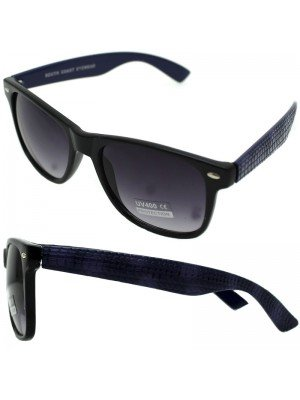 Wholesale Men's Wayfarer Sunglasses with Alligator Frame - Assorted Colours