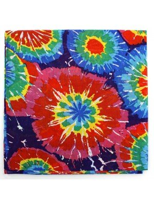 Wholesale Rainbow Splash Bandana