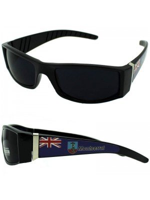 Wholesale Fashion Sunglasses - Montserrat Flag