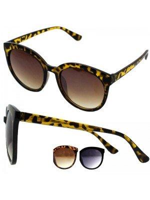 Wholesale Ladies Wayfarer Cat Frame Sunglasses - Assorted Colours