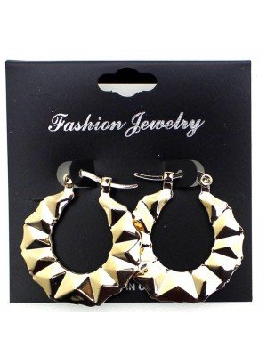 Wholesale Fashion Jewellery - Diamond Cut Styled Earings