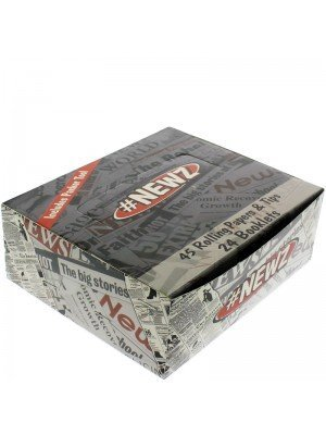 #NEWZ King Size Slim Rolling Papers & Tips 24 Booklets