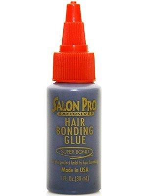 'Salon Pro Exclusive' Hair Bonding Glue Black 1 oz.