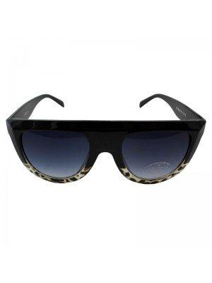 Adults Large Leopard Print Sunglasses