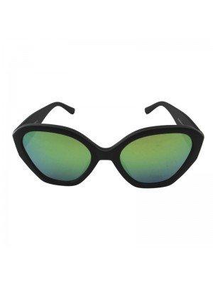 Adults Mirror Effect Sunglasses - Black