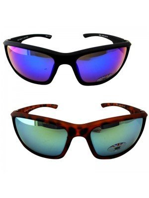 Adults Mirror Effect Sunglasses - Assorted