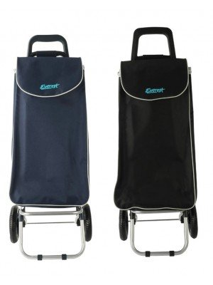 Everest Two Wheel Shopping Trolley - Assorted Colours