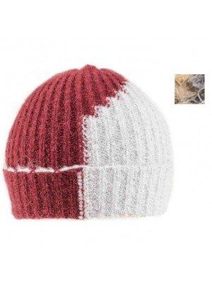 Wholesale Ladies 2 Tone Ski Hat