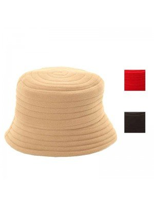 Wholesale Ladies Thick Ribbed Fleece Hat With Up Or Down Brim