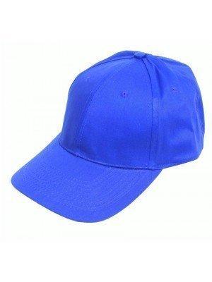 Wholesale Adults 6 Panel Baseball Caps - Royal Blue