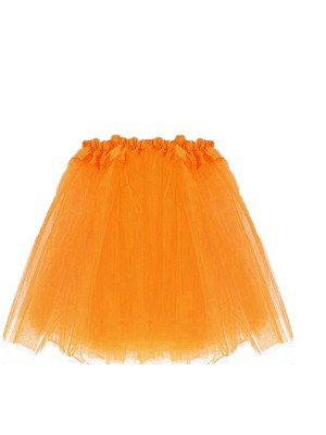 Children's Neon Orange Tutu Skirt