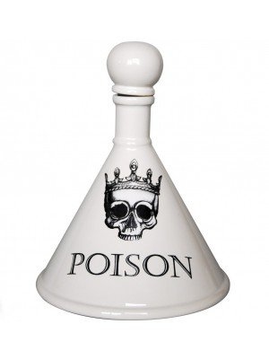 Absyinth Decanter Glazed - POISON