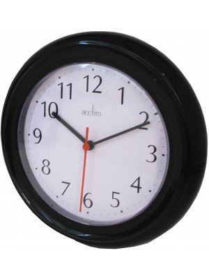 Wholesale Acctim Wycombe Wall Clock - Black