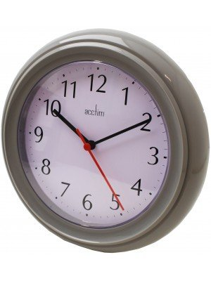 Wholesale Acctim Wycombe Wall Clock - Grey