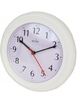 Wholesale Acctim Wycombe Wall Clock - White