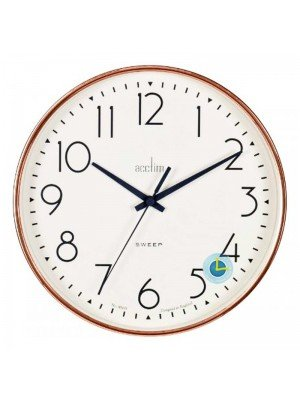 Wholesale Acctim Earl Wall Clock - Rose Gold