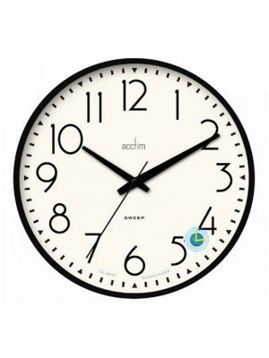 Wholesale Acctim Earl Wall Clock - Black
