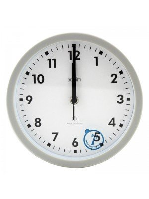 Wholesale Acctim Radio Controlled Nardo Wall Clock - Grey