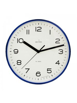 Wholesale Acctim Runwell Wall Clock - Blue