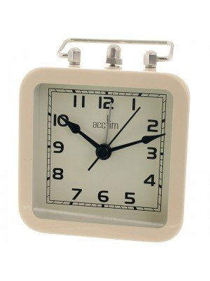 Acctim Taplow Alarm Clock - Cream