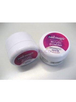Nail Magic Acrylic Powder - Dramatic White