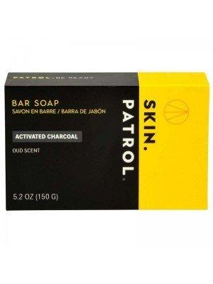 Skin Patrol Mens Bar Soap - Activated Charcoal