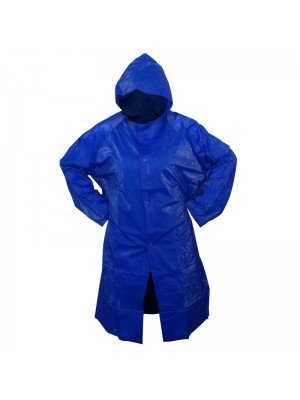 Adult Raincoat (One Size) - Blue
