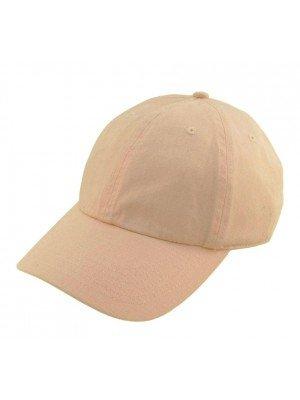 Adults Adjustable Baseball Cap - Beige